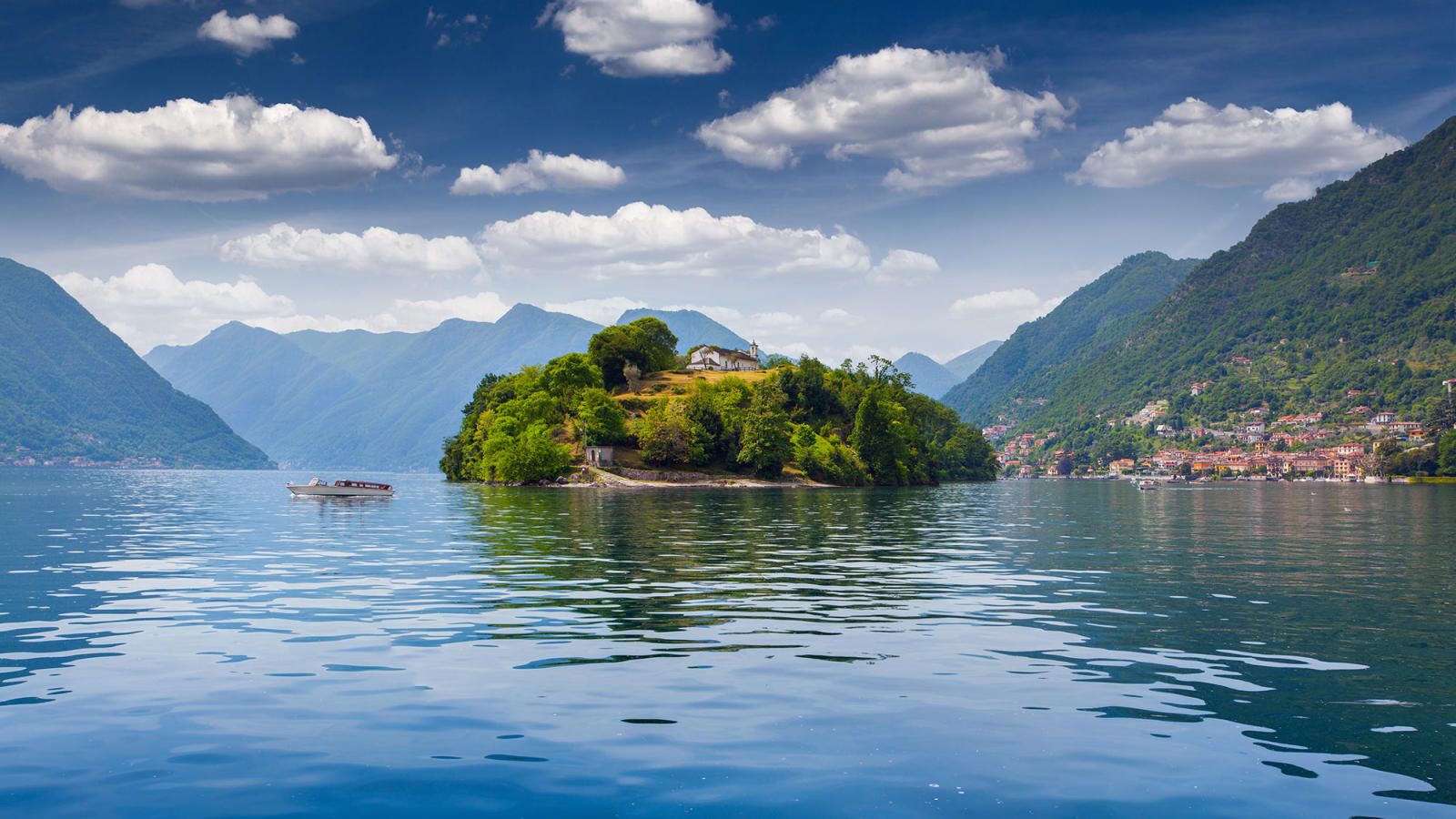 Picturesque lake como italy fishing tours special offer for Take me fishing lake locator